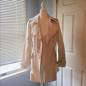 Cream/ivory trench coat